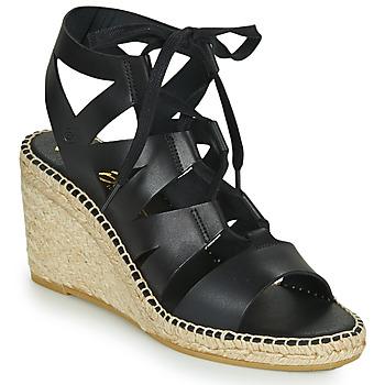 Schoenen Dames Sandalen / Open schoenen Betty London OLEBESY Zwart