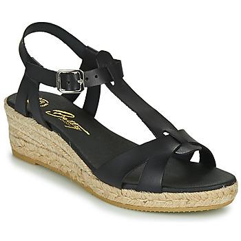 Schoenen Dames Sandalen / Open schoenen Betty London OBORSEL Zwart