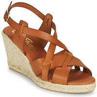 Schoenen Dames Sandalen / Open schoenen Betty London OSAVER  camel