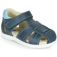 Schoenen Jongens Sandalen / Open schoenen Citrouille et Compagnie OLISS Blauw