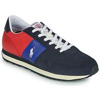 Schoenen Heren Lage sneakers Polo Ralph Lauren TRAIN 85-SNEAKERS-ATHLETIC SHOE Marine / Rood