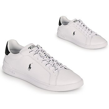 Schoenen Heren Lage sneakers Polo Ralph Lauren HRT CT II-SNEAKERS-ATHLETIC SHOE Wit / Zwart