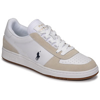 Schoenen Lage sneakers Polo Ralph Lauren POLO CRT PP-SNEAKERS-ATHLETIC SHOE Wit