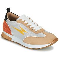 Schoenen Dames Lage sneakers Vanessa Wu BK2268BG Beige / Geel / Orange