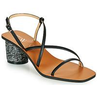 Schoenen Dames Sandalen / Open schoenen Vanessa Wu SD2226NR Zwart