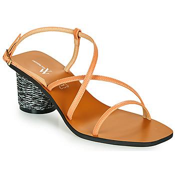 Schoenen Dames Sandalen / Open schoenen Vanessa Wu SD2226SM Orange