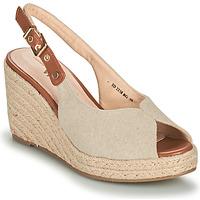 Schoenen Dames Sandalen / Open schoenen Vanessa Wu SD2238BG Beige / Brown