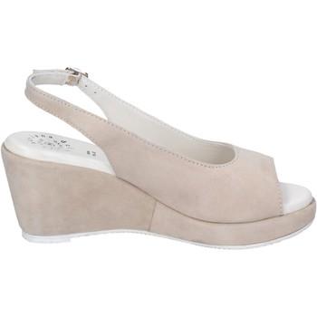 Schoenen Dames Sandalen / Open schoenen Adriana Del Nista Sandales BJ03 Beige