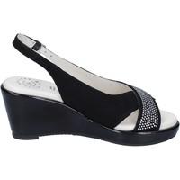Schoenen Dames Sandalen / Open schoenen Adriana Del Nista Sandales BJ04 Noir