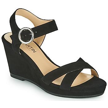 Schoenen Meisjes Sandalen / Open schoenen JB Martin QUERIDA Zwart