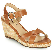 Schoenen Meisjes Sandalen / Open schoenen JB Martin QUERIDA Brown