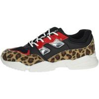 Schoenen Meisjes Lage sneakers Pinko Up 025305 Black/Beige