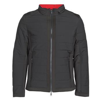 Textiel Heren Dons gevoerde jassen Guess  Zwart / Orange