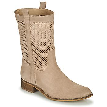 Schoenen Dames Hoge laarzen Betty London ONEVER Beige