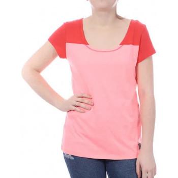 Textiel Dames T-shirts korte mouwen Millet  Roze