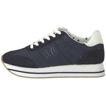 Schoenen Dames Lage sneakers S.Oliver 552361222805 Bleu marine