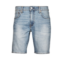 Textiel Heren Korte broeken / Bermuda's Levi's 411 Slim Short Blauw