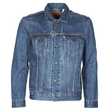 Textiel Heren Spijker jassen Levi's THE TRUCKER JACKET Blauw
