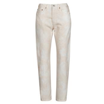 Textiel Dames Boyfriend jeans Levi's 501 CROP Peche