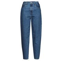 Textiel Dames Boyfriend jeans Levi's HIGH LOOSE TAPER Blauw