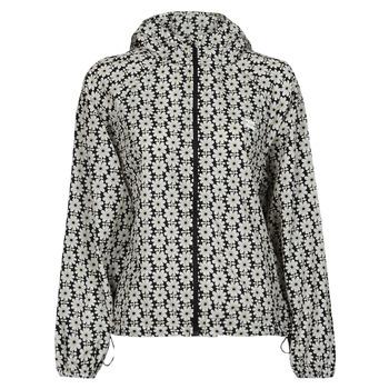 Textiel Dames Windjacken Levi's LINA PACKABLE WINDBRKR Beige / Wit / Zwart