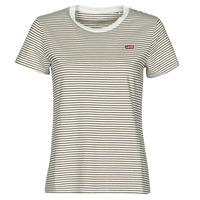 Textiel Dames T-shirts korte mouwen Levi's PERFECT TEE Beige