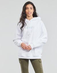 Textiel Dames Sweaters / Sweatshirts Levi's GRAPHIC RIDER HOODIE Wit