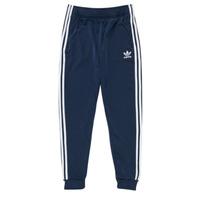 Textiel Kinderen Trainingsbroeken adidas Originals GN8454 Blauw
