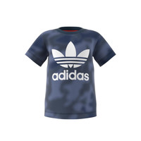 Textiel Jongens T-shirts korte mouwen adidas Originals GN4116 Blauw