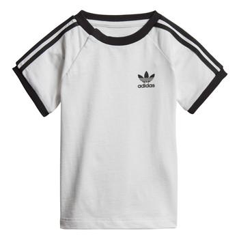 Textiel Kinderen T-shirts korte mouwen adidas Originals DV2824 Wit