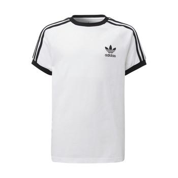 Textiel Kinderen T-shirts korte mouwen adidas Originals DV2901 Wit