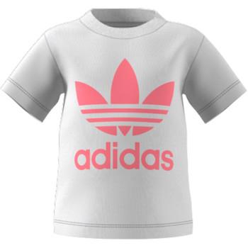 Textiel Kinderen T-shirts korte mouwen adidas Originals GN8175 Wit