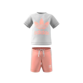 Textiel Kinderen Setjes adidas Originals GN8192 Wit