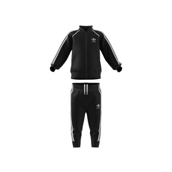 Textiel Kinderen Trainingspakken adidas Originals FREDDY Zwart