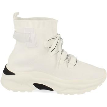 Schoenen Dames Hoge sneakers Buonarotti 1AP-1022 Blanco