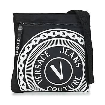 Tassen Heren Tasjes / Handtasjes Versace Jeans Couture SOLEDA Zwart / Wit