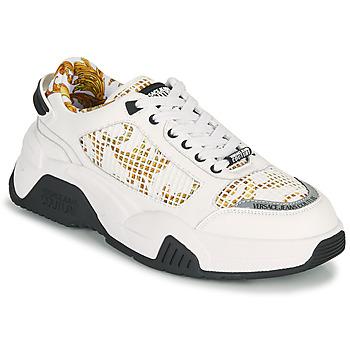Schoenen Heren Lage sneakers Versace Jeans Couture HATINA Wit / Goud