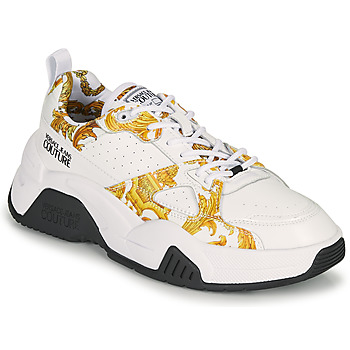 Schoenen Dames Lage sneakers Versace Jeans Couture MINAFI Wit / Goud