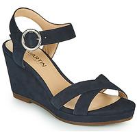 Schoenen Meisjes Sandalen / Open schoenen JB Martin QUERIDA Marine