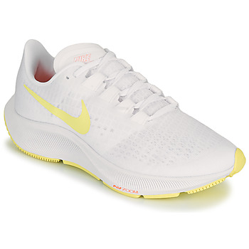Schoenen Dames Running / trail Nike AIR ZOOM PEGASUS 37 Wit / Geel