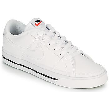 Schoenen Dames Lage sneakers Nike COURT LEGACY Wit