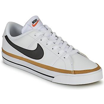 Schoenen Dames Lage sneakers Nike COURT LEGACY Wit / Blauw