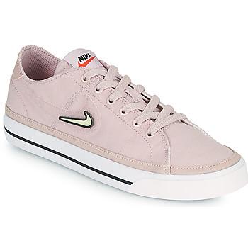 Schoenen Dames Lage sneakers Nike COURT LEGACY VALENTINE'S DAY Roze
