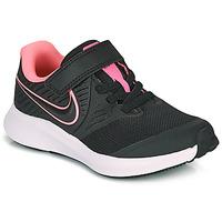 Schoenen Meisjes Allround Nike Star Runner 2 PS Zwart
