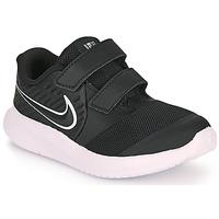 Schoenen Kinderen Allround Nike STAR RUNNER 2 TD Zwart / Wit