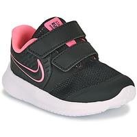 Schoenen Meisjes Allround Nike STAR RUNNER 2 TD Zwart / Roze
