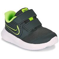 Schoenen Jongens Allround Nike STAR RUNNER 2 TD Zwart / Groen