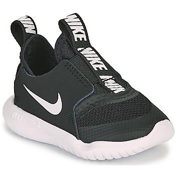 Schoenen Kinderen Running / trail Nike FLEX RUNNER TD Zwart / Wit