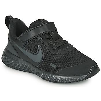 Schoenen Kinderen Allround Nike Revolution 5 PS Zwart