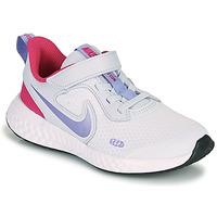 Schoenen Meisjes Allround Nike REVOLUTION 5 PS Blauw / Violet